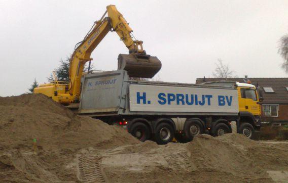 Spruijt grondwerken graven