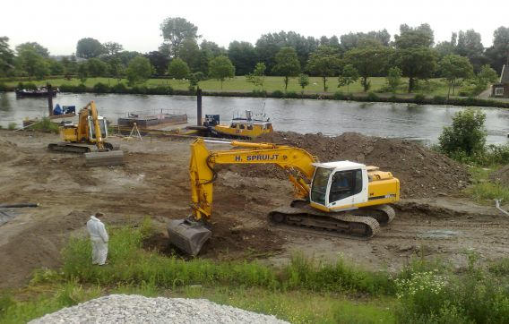 graven waterwerk grondwerk