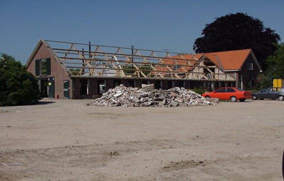 Boerderij sloopwerken sloopwerkzaamheden slopen