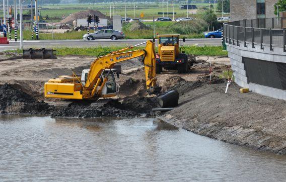 Waterwerk waterwerken kade gemeente Amstelveen
