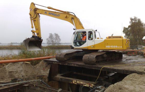 aanleg betonriool riool rioolwerken