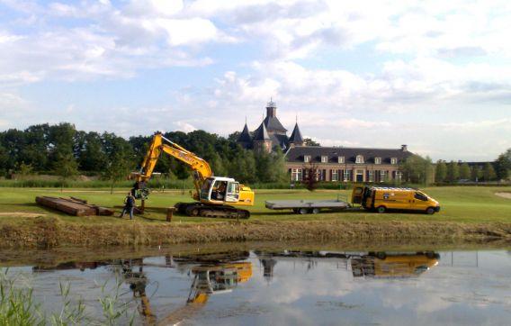 Beschoeiing golfbaan Nieuwegein