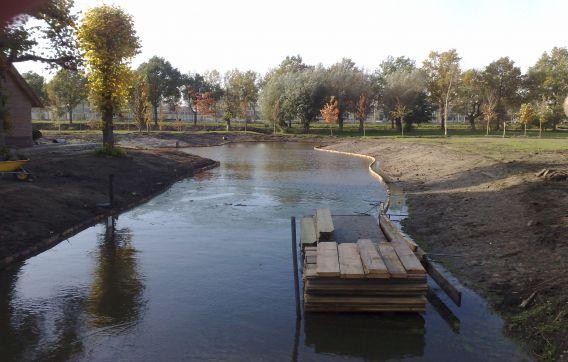 Graven waterpartij Maarssen